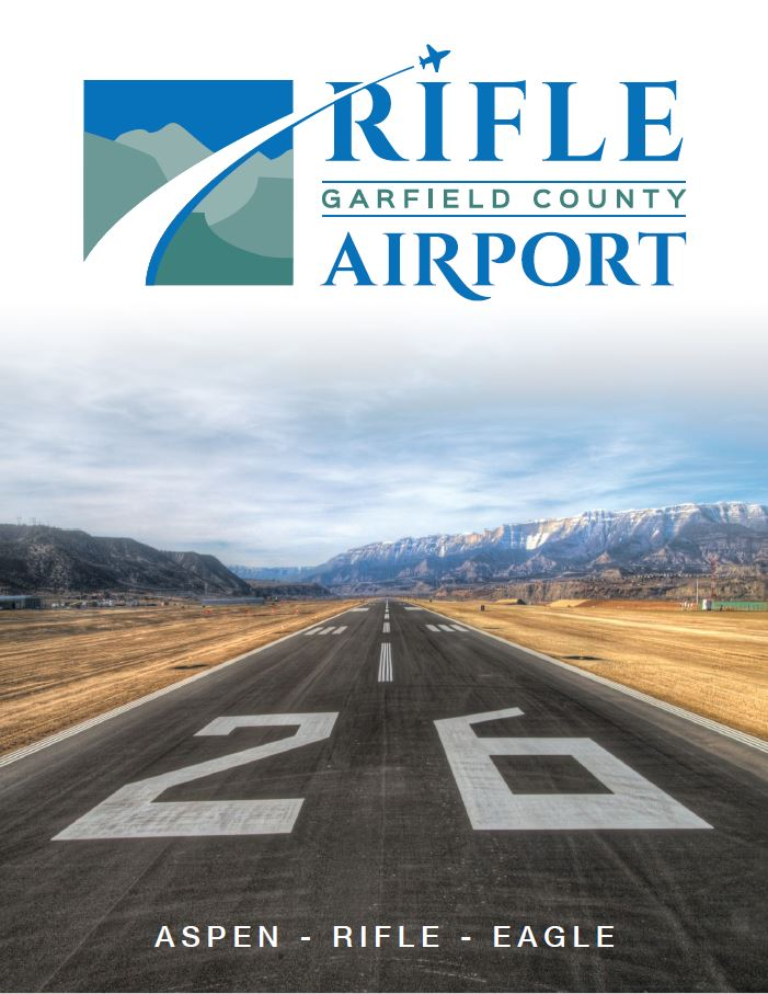 Cover of the Rifle Garfield County Airport brochure